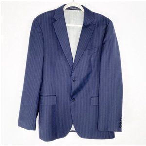 Hugo Boss Pasolini Sports Coat Blazer Blue Stripe